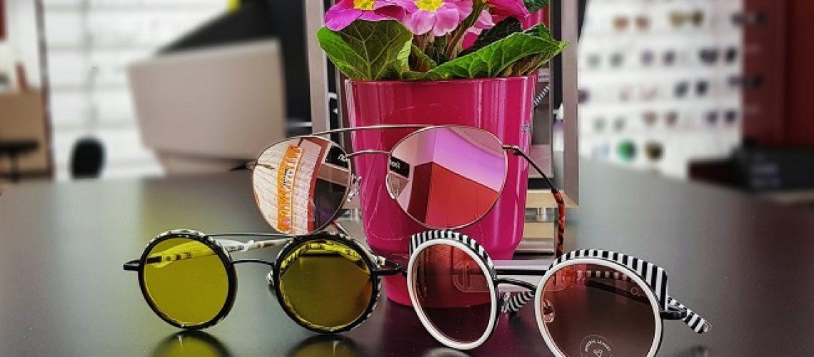 ausgefallene Sonnenbrillen